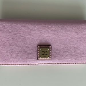 Dooney & Bourke long pink wallet